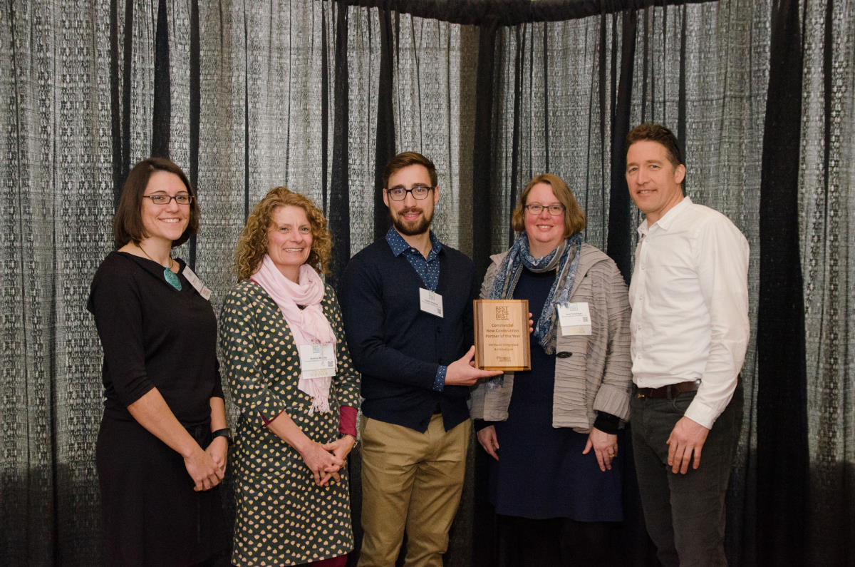2019 Efficiency Vermont Commercial Design and Construction Partner Award