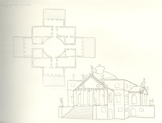 Andrea Murray architect sketch