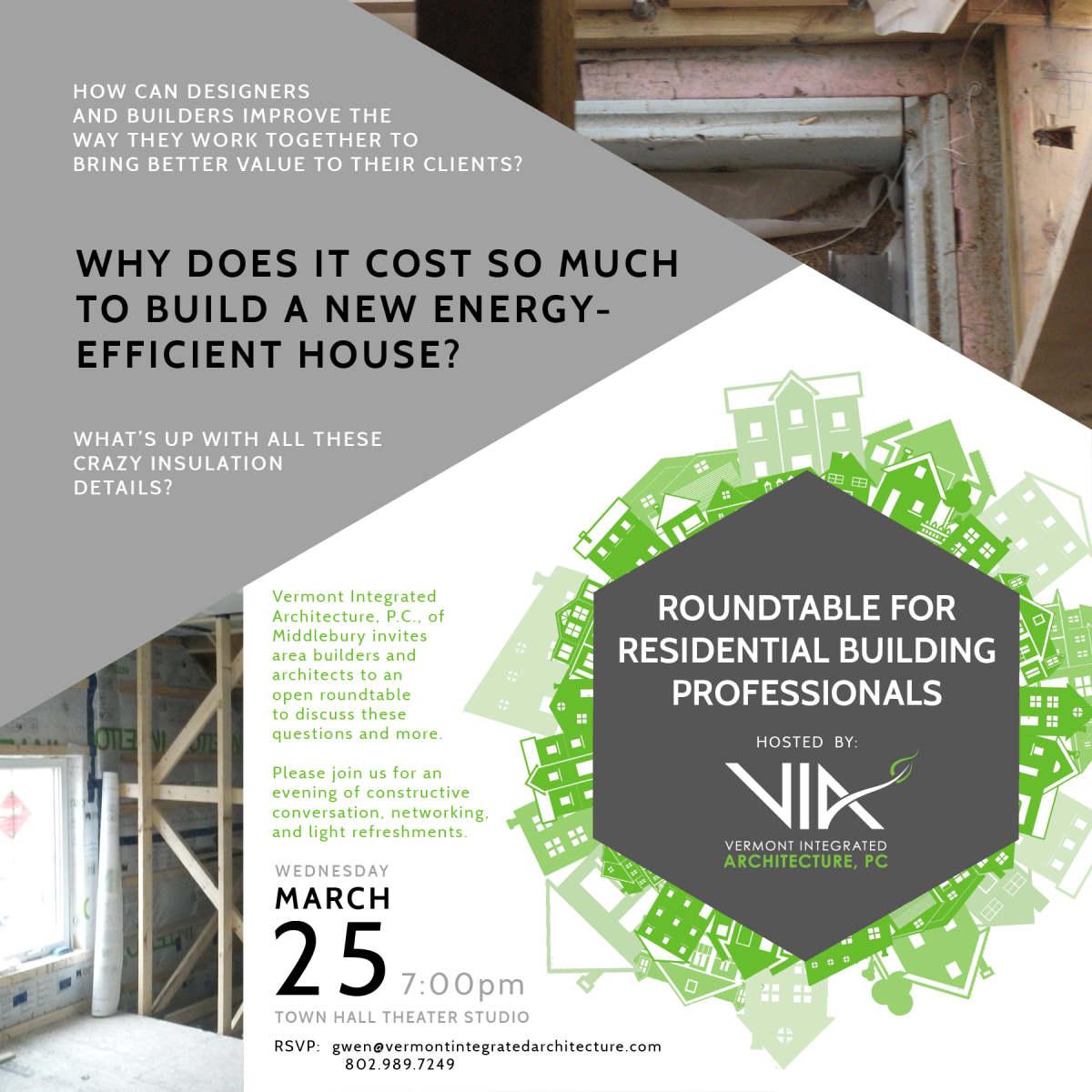 Builder Designer Energy Efficiency VIA
