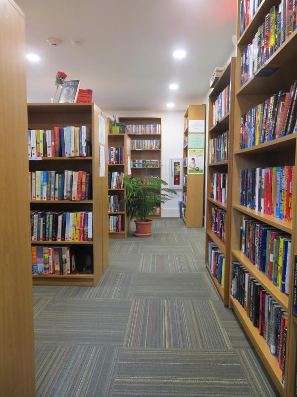 Cornwall VT library after renovation