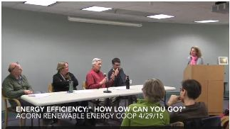 Energy Efficiency Acorn Energy Co-op