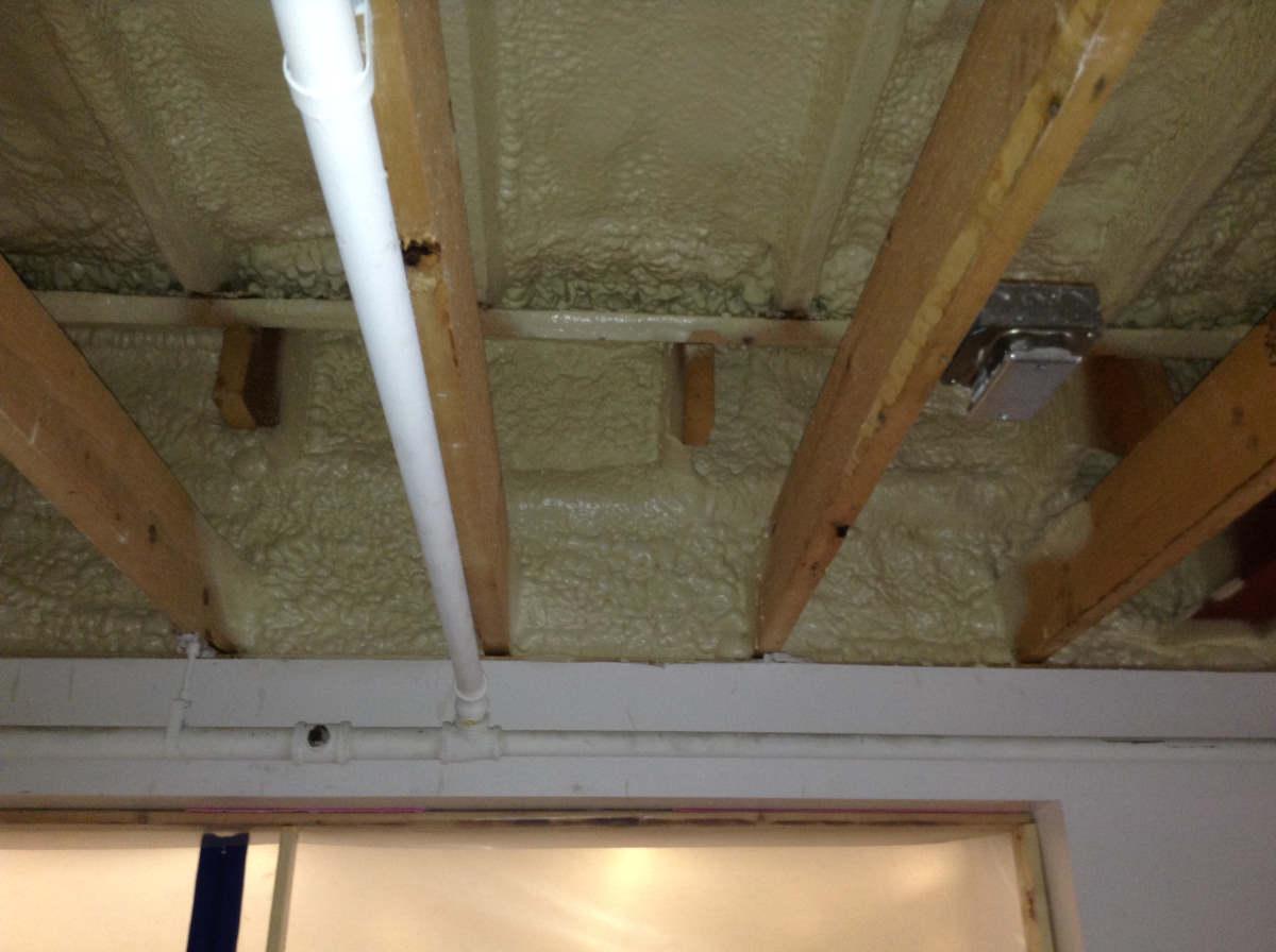 Ilsley library insulation air sealing VIA