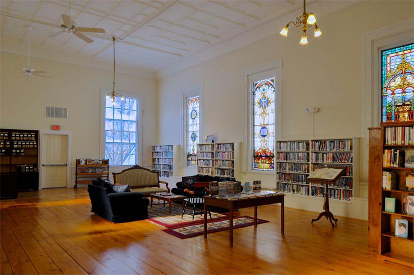Rochester VT library historic restoration 2