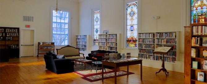 Rochester VT library historic restoration 3