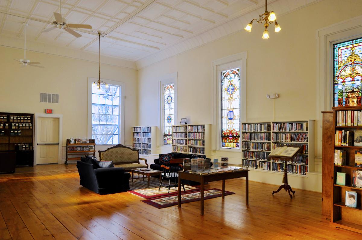 Rochester Vermont library historic restoration VIA