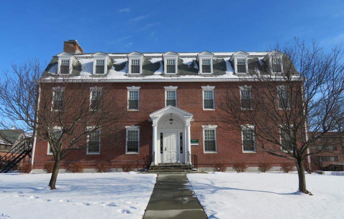 Slade Hall historic restoration Burlington UVM vt