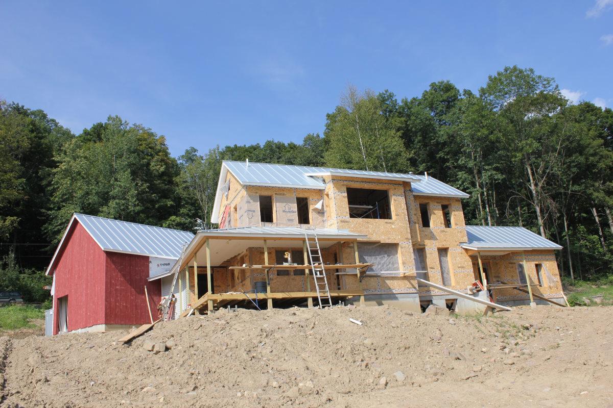 VIA house construction 2