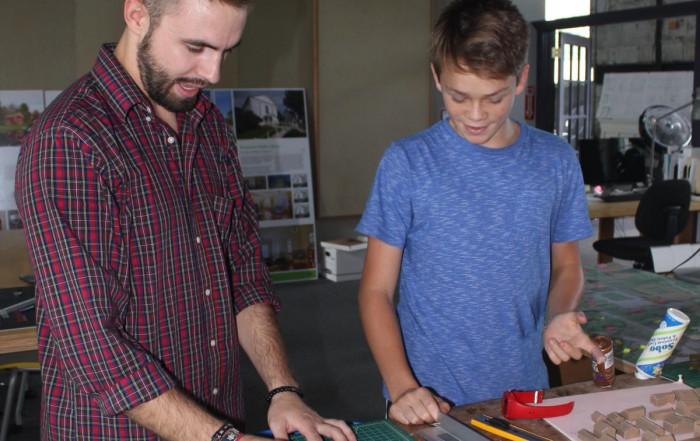 Vermont Integrated Architecture summer interns VIA