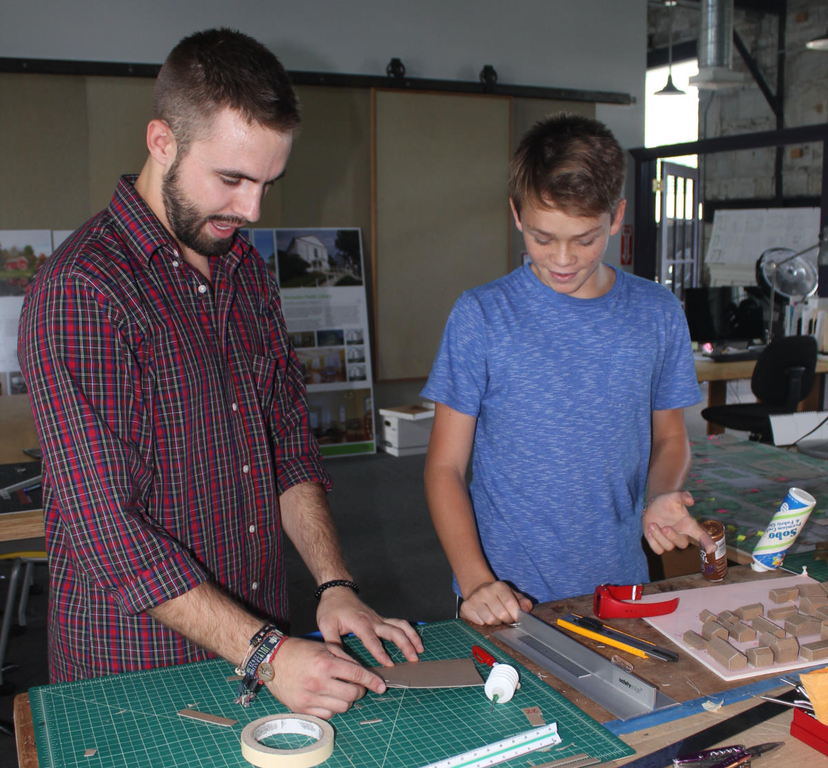 Vermont Integrated Architecture summer interns VIA