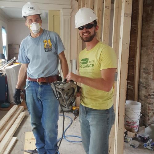 Vermont Integrated Architecture volunteer work 2