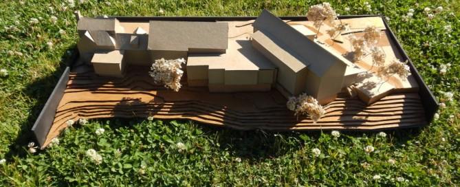 Waterbury Municipal Complex architectural model VIA