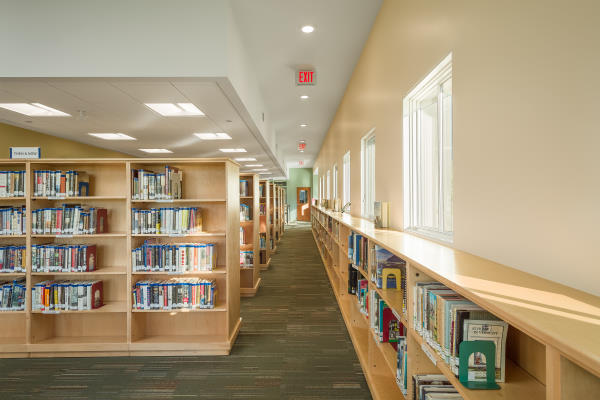 Waterbury VT new library stacks