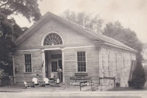 Westport NY historic town hall restoration architecture