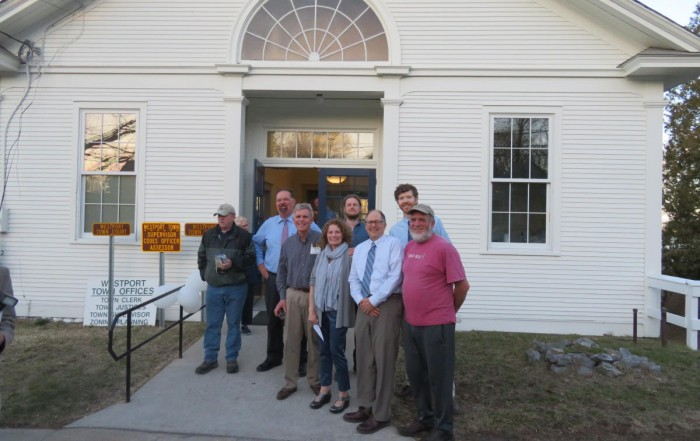 Westport NY town office design and building team 2