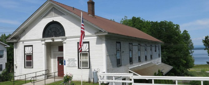 Westport Town Office renovation grant