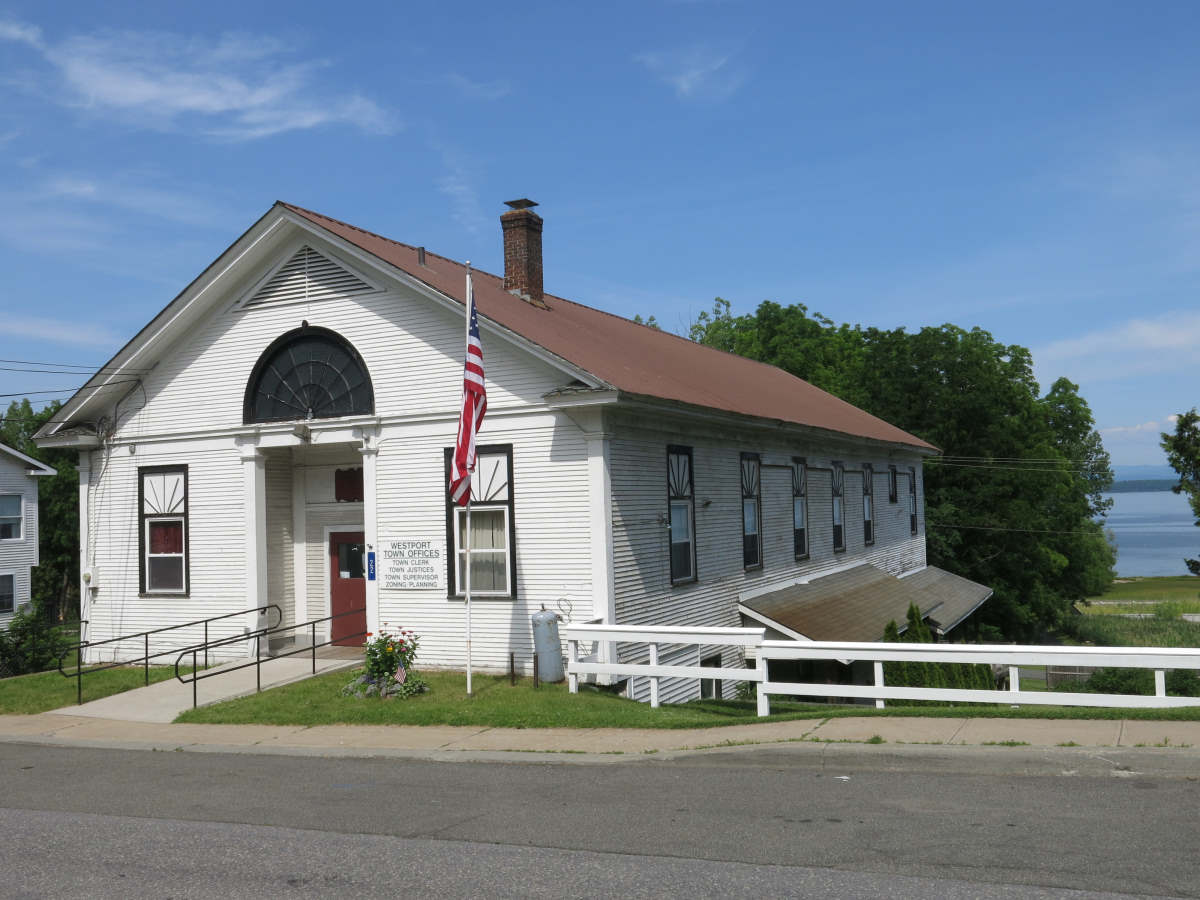 Westport Town Office renovation grant